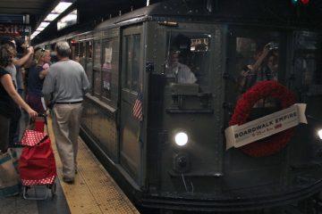 Boardwalk Empire Train. Photo by SubwayNut.com
