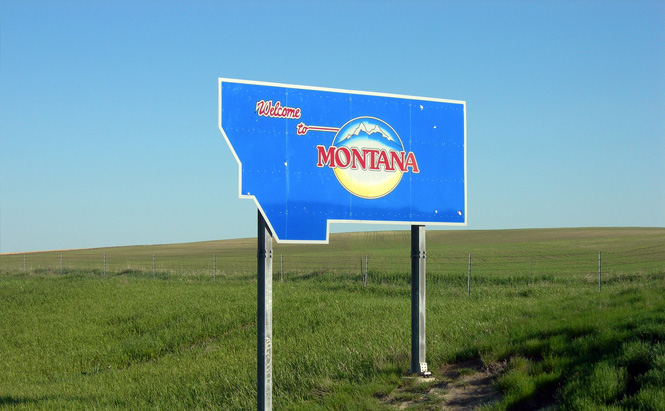 Welcome to Montana. Image courtesy of auvet on Flickr.