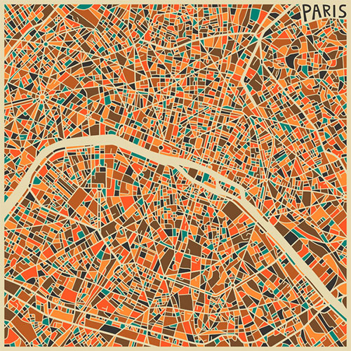 Paris by Jazzberry Blue
