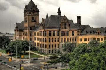 Old Main, Wayne State University. Photo by John Cruz