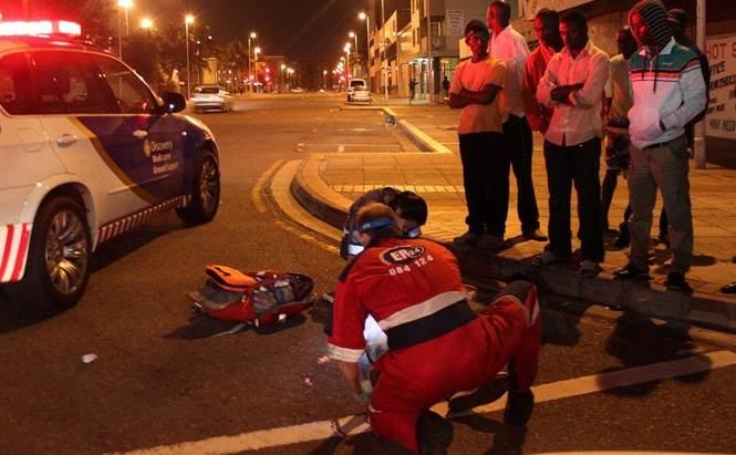 Pedestrian Accident. Photo by er24ems on Flickr