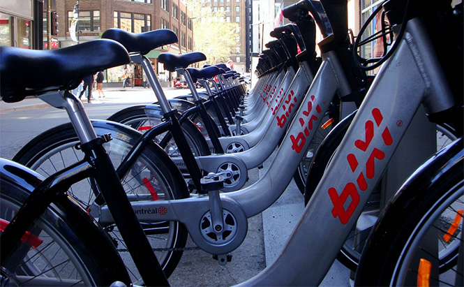 Bixi Bike Sharing in Montreal Photo by spcbrass on Flickr