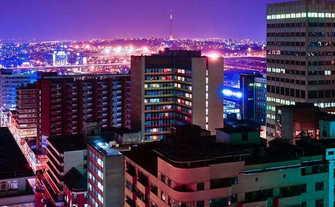 Johannesburg CBD. Photo by thesmiths on Flickr.
