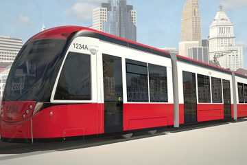 Cincinnati street car rendering
