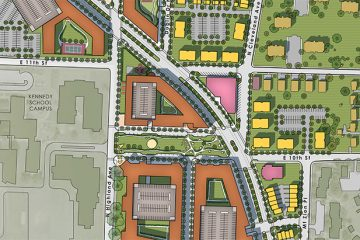 Cleveland Avenue Neighborhood (Winston-Salem North Carolina) revitalization master plan.