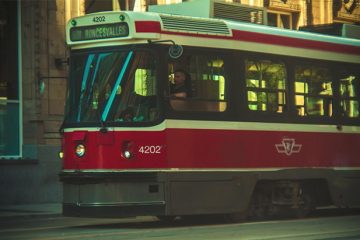 Toronto Streetcar. Photograph by John Cruz