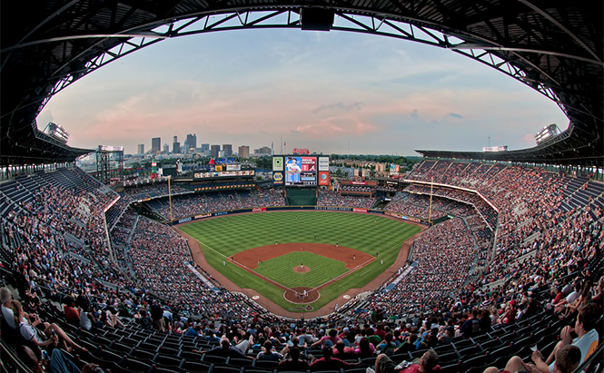 Turner Field, Atlanta GA. Photo by markwhitt on Flickr.