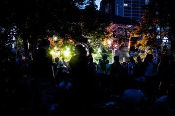 Movement 2010 at Hart Plaza in Detroit, MI.