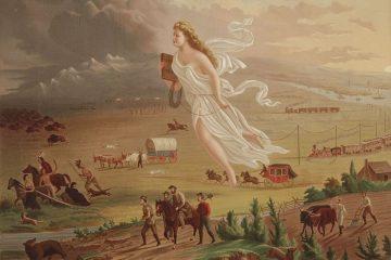 Manifest Destiny, John Gast (1872)