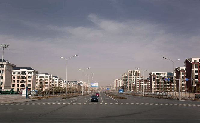 Ordos, China. Image courtesy of philipgostelow.com