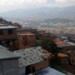 Medellín: Housing units below Metrocable line K in Carpinelo neighborhood. Photo by Author