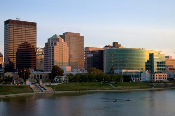 Downtown Dayton, Ohio. Photo by koolade624 on Flickr.