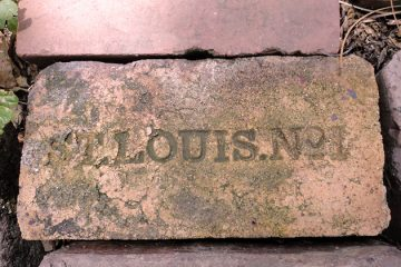 Brick in LaSalle Park, St. Louis, Missouri. Photo by pasa47 on Flickr.