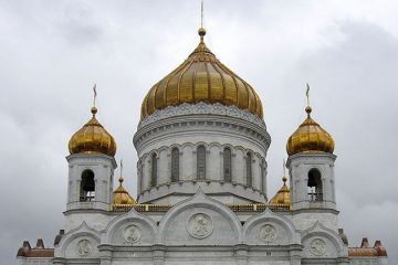 Christ the Savior Cathedral, Moscow. Photo by brennwald on Flickr.