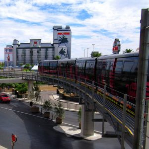 Las Vegas Monorail. Photo by DurangoBeach on Flickr.