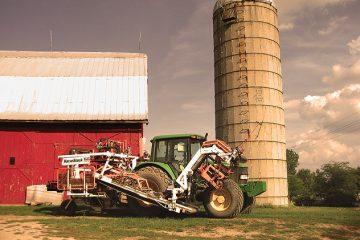 Waltz sod farm in Waltz, Michigan. Photo by thisincredibleworld on Flickr.