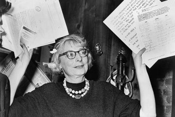 Jane Jacobs. Courtesy of Wikipedia.