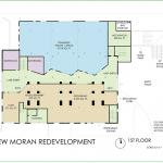 New Moran: Floor 1 floorplan