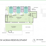 New Moran: Floor 4 floorplan