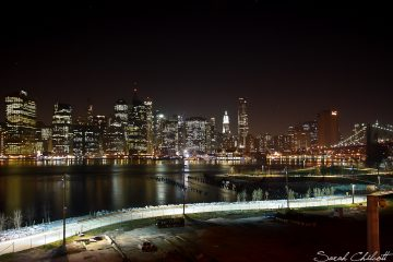 Manhattan at night. Photo by sbc9 on Flickr