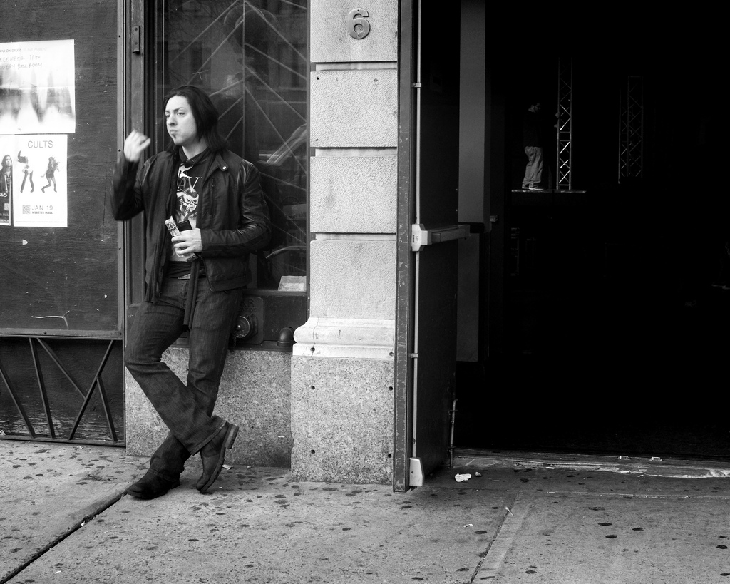 Outside the Bowery Ballroom in New York. Photo by roeyahram on Flickr.