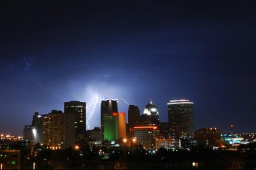 OKC Lightning by aaronbee on Deviantart.
