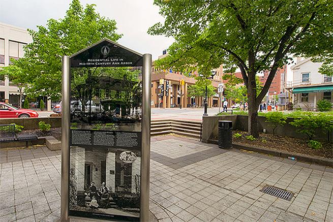 Liberty Plaza. Photo by Doug Coombe