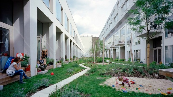 Baugruppen is co-created by the community and designed for its specific needs. Photo: Grist
