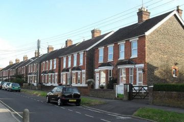 Housing on Spencers Road, West Green. Photo by @pics-by-mpd on Flickr.