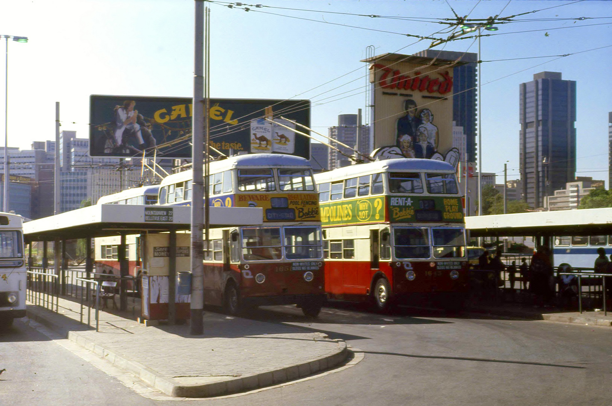 Johannesburg Trolleybuses, 1984. Photo by Martyn Hearson on Flickr