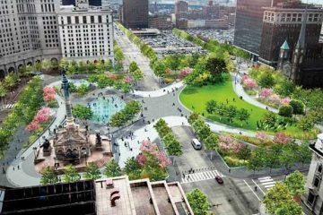Cleveland Public Square Rendering