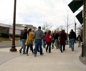 Arlington, Virginia shows how feet on the street help a community thrive